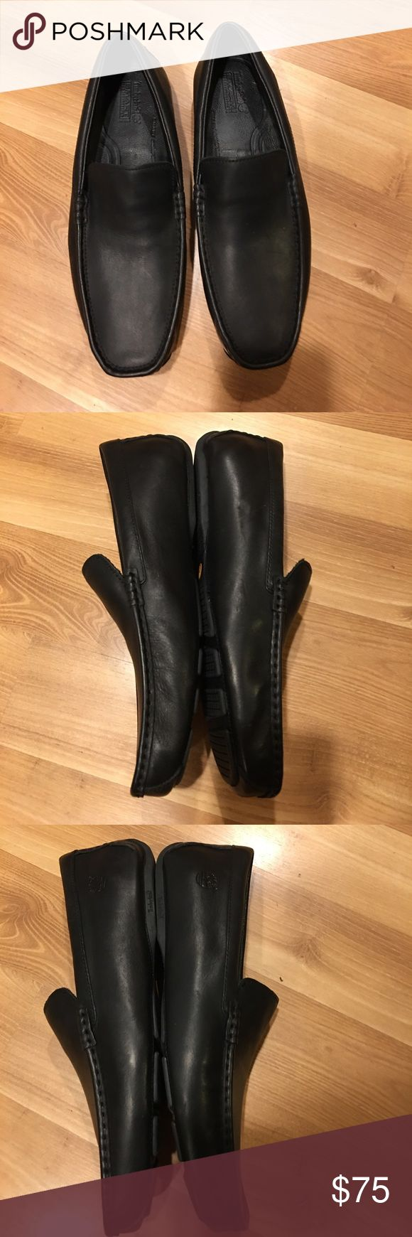Timberland boat shoes black leather size 10M Shoes are in excellent used , clean inside and out and are ready to wear. Timberland Shoes Loafers & Slip-Ons