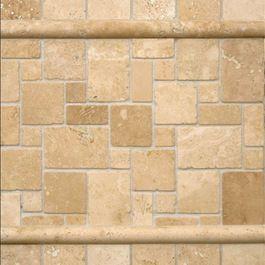 Best Ivory Travertine Backsplash Kitchen Tile Tamyeln 400 x 300