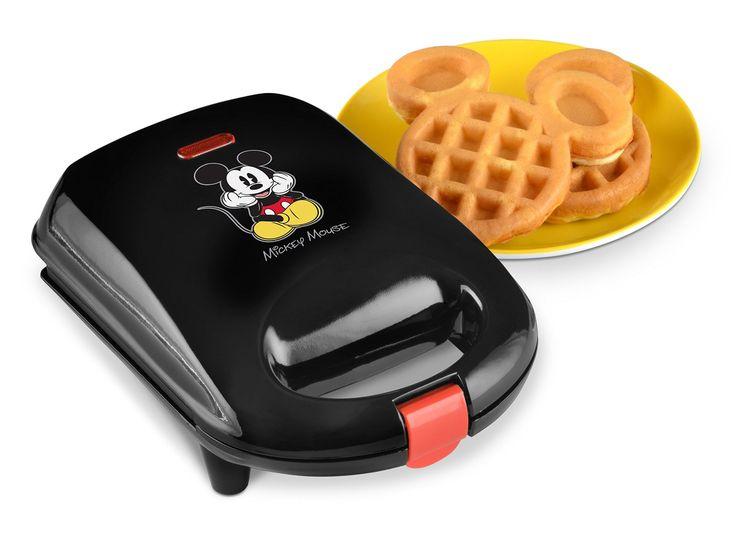 Small but Yummy Treats with the Mini Mickey Waffle Maker