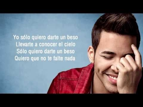 Prince Royce - Darte Un Beso + Letra Direct object pronouns (and placement)