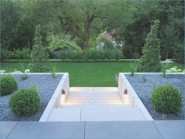 Modern Garden On The Hillside Modern Garden Sloped Garden Hillside Landscaping