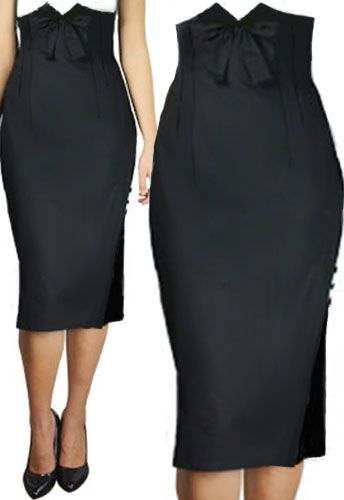 High Waist Bow Skirt by Amber Middaugh -Save 37% at Chicstar.com Coupon: AMBER37