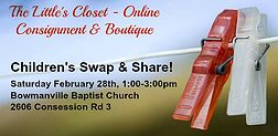 The Little's Closet Children's Consignment & Boutique   Children's Swap & Share Event