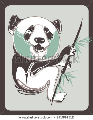 my new vector ! check this out : http://www.shutterstock.com/pic-141994312/stock-vector-panda-vector-with-vintage-style.html?src=hEDnPS6haL1DmlRNlOPCIg-1-8