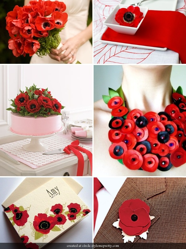 Poppies! Some lovely inspiration on this board ;)