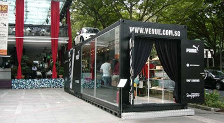 Shipping Container Shops | Pop-Up Shops – Temporary T ...