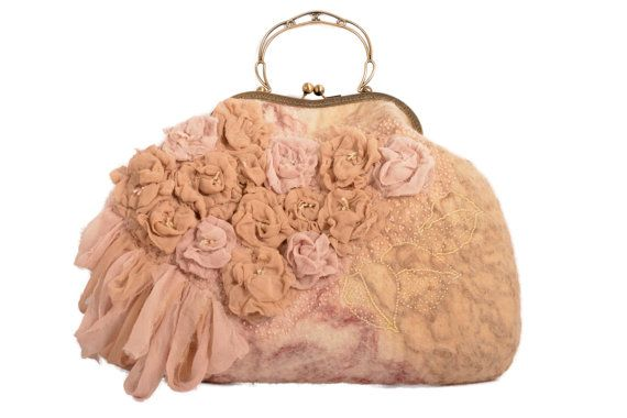 Borsa Tea Rose di EleganceCollections su Etsy, €150.00