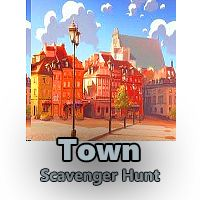Get your Town Scavenger Hunt for just $4.99 (was $7.99). 35% off the price of our  #Town #Scavenger-Hunt Clues for Adults