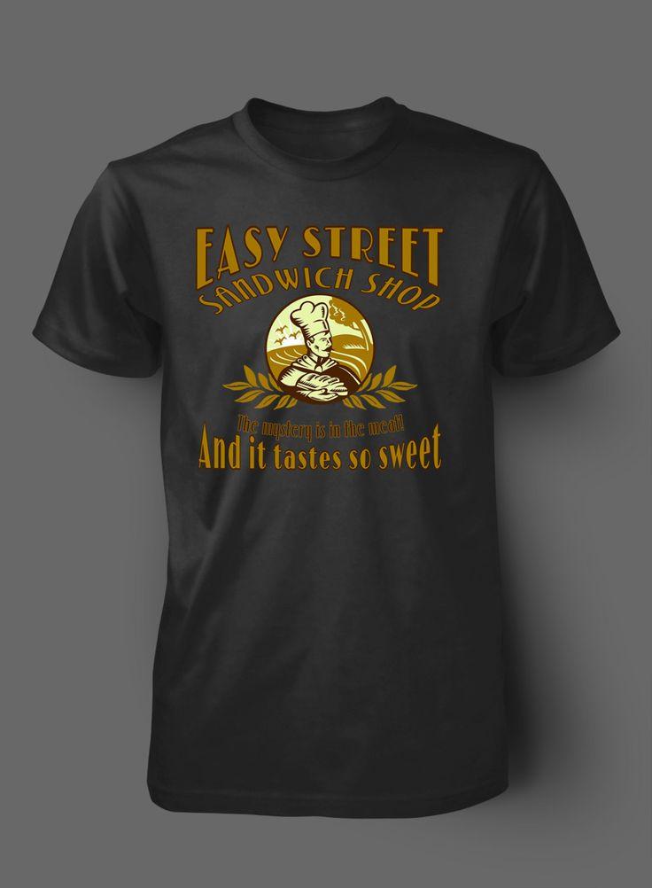 East Street Sandwich Shop The Walking Dead T Shirt by WilliamsDigitalStore on Etsy