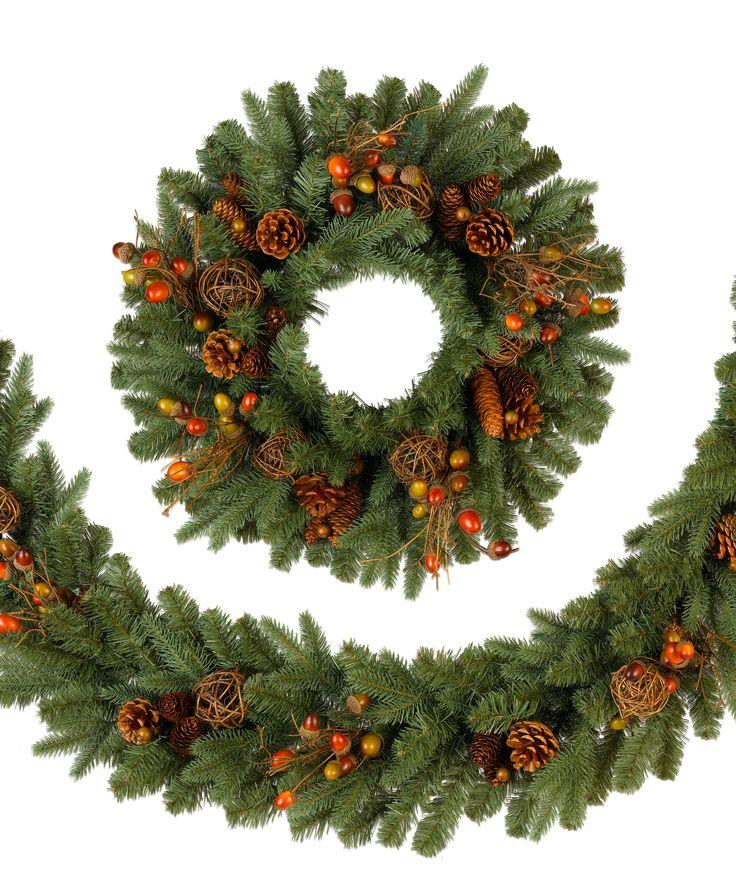 17 best Classic Wreaths & Garlands images on Pinterest | Garlands ...