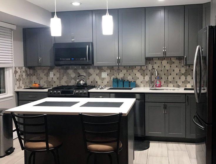 Alicia Gabra Interior Design Modern Kitchen Modern Kitchen Modern Interior Design College Design