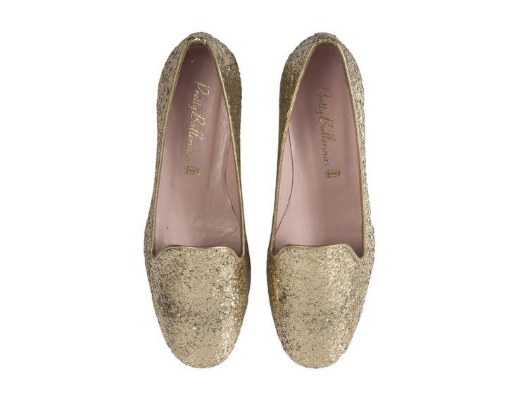 Pretty Ballerinas Golden Loafers  http://styleintro.com/boutique,index,buty-plaskie,142,0,0,0,0,0,0