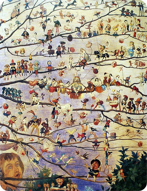 Richard Doyle, The Fairy Tree, c.1865 by A Fanciful Twist, via Flickr