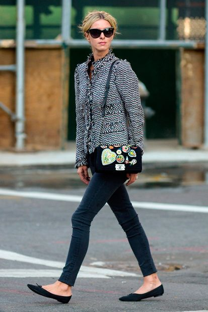 NICKY HILTON - beautiful casual NY chic example <3
