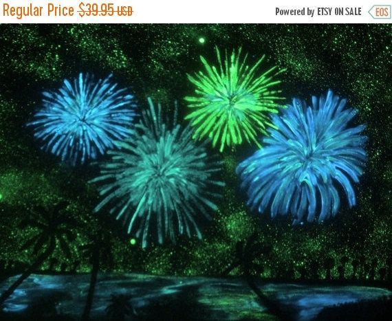 ON SALE Luminous Painting Florida Fourth Fourth of by ipaintstars