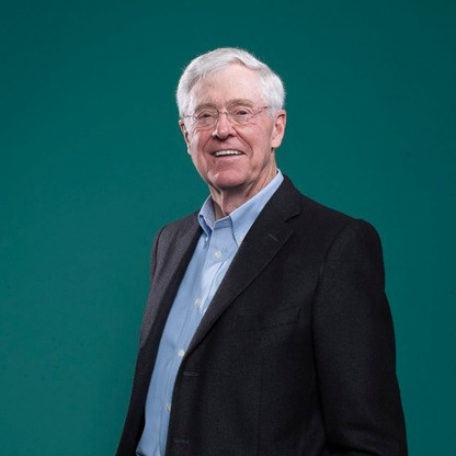 Charles koch help me america and messages for David koch usa