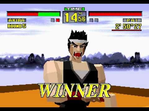 ▶ Sega 32X' Longplay [005] Virtua Fighter - YouTube