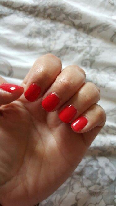 Favourite colour at the moment. Tanya Burr nail Polish.