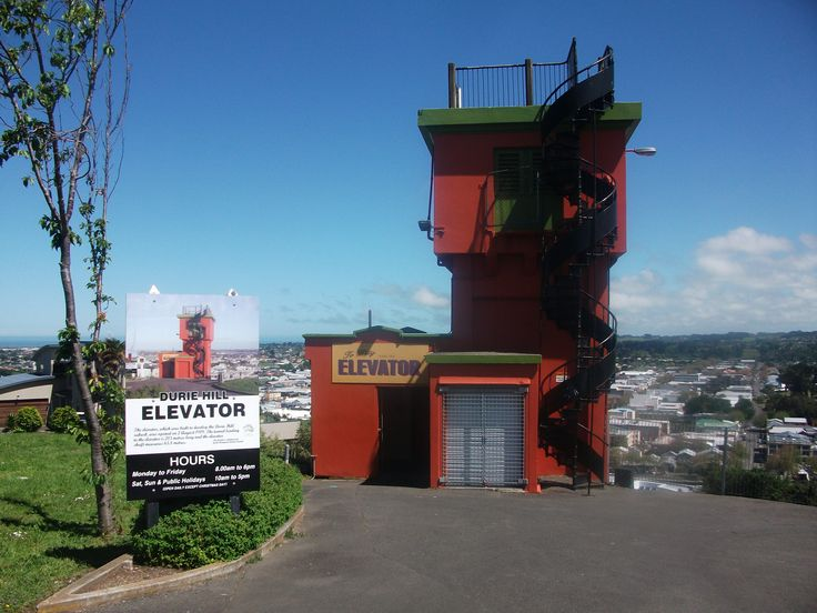 The Durie Hill Elevator is located opposite the the Whanganui City Bridge on Anzac Parade and is a 5 minute walk from the Whanganui City. It was built to provide public transport to some say the first modern New Zealand suburb. It is as inovative as it is today as it was when it first open in 1919. This suburb was planned by the architect Samuel Hurst Seager and has provided the local community a wonderful service and a place where you can truely take in some stunning views of Whanganui…