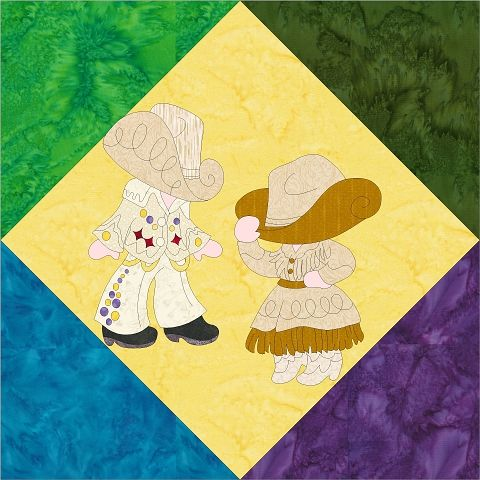 Sunbonnet Sue and Sam - Tennessee Released - http://www.seamstobesew.com/sunbonnet-sue-and-sam-tennessee-released/