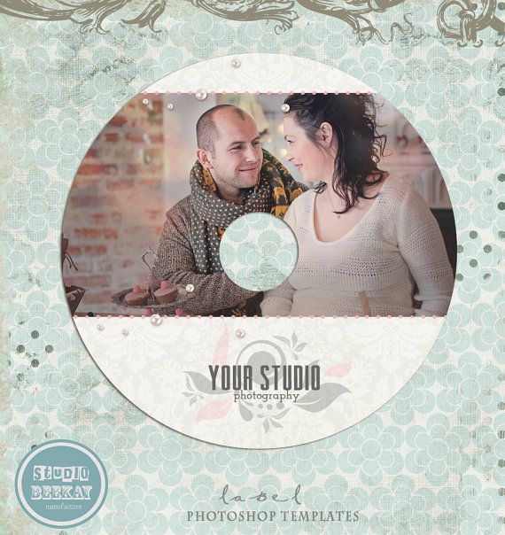 Bf Sale CdDvd Label Photoshop Template  Photography Cd Label