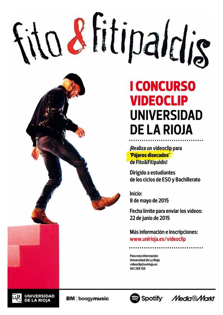 I Concurso video-clip Universidad de La Rioja, sobre la canción 'Pájaros disecados' de Fito&Fitipaldis