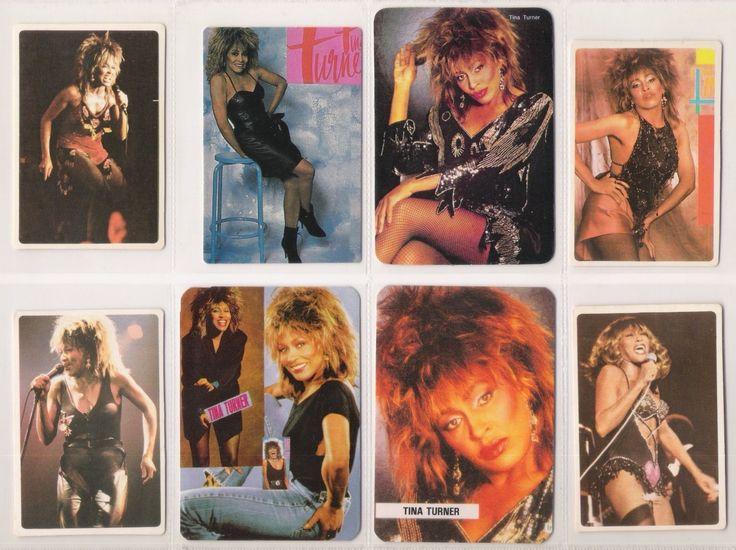 TINA TURNER Lot 19 Pocket Calendars Vintage 80's Cards Set PORTUGAL Portuguese | eBay