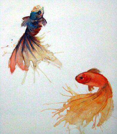 Gold fish ink tattoo inspiration my style pinterest for I love the fishes