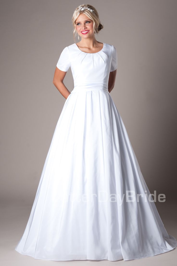 a temple dress and a wedding Explore geíris vieira's board dress white on pinterest | see more ideas about lds temples, wedding gowns and temple dress.