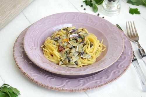 Pasta ricette Spaghetti con le telline