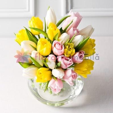 buchete lalele, florarie online,flori ieftine, florarie bucuresti, buchete flori