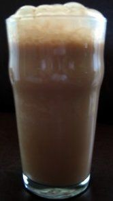 In New York we loved to go to the candy store, hop up on a stool at the counter, and order an egg cream.  Wow were they good.  I liked to have a $.02 stick pretzel with mine.  Oh those were the days!