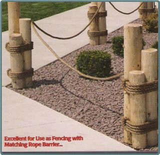 Image detail for -... nautical landscaping ideas nautical pilings make a lovely garden