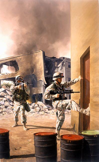 Iraq invasion, GI Joe illustration by Larry Selman   GI ...
