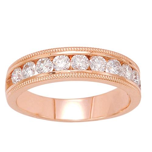 Spectacular Celebrating Anniversaries diamonds rosegold fredmeyerjewelers Diamond Anniversary RingsFred MeyerPromise