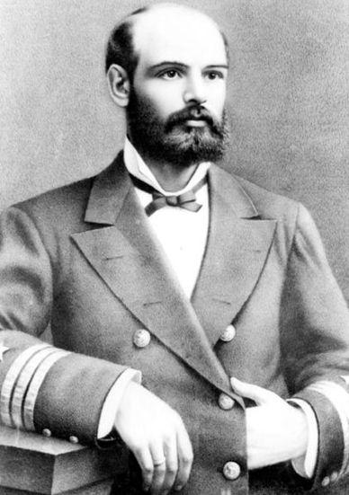 Arturo Prat Chacòn, Capitàn de la Esmeralda. Combate Naval de Iquique 21 de mayo, 1879.