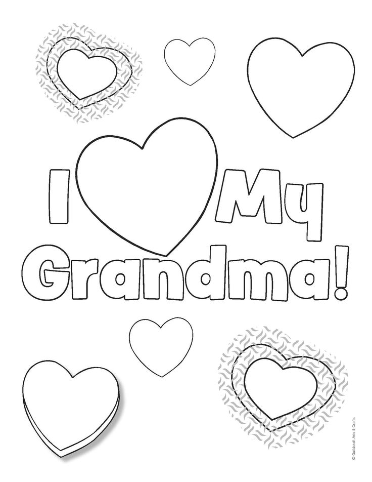 Religious Grandparents Day Printable Coloring Cards