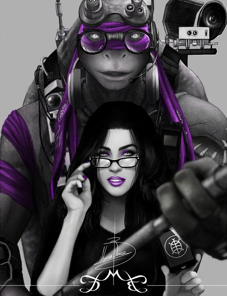 TMNT: Purple by MariaDeniseBrebos at Deviant Art
