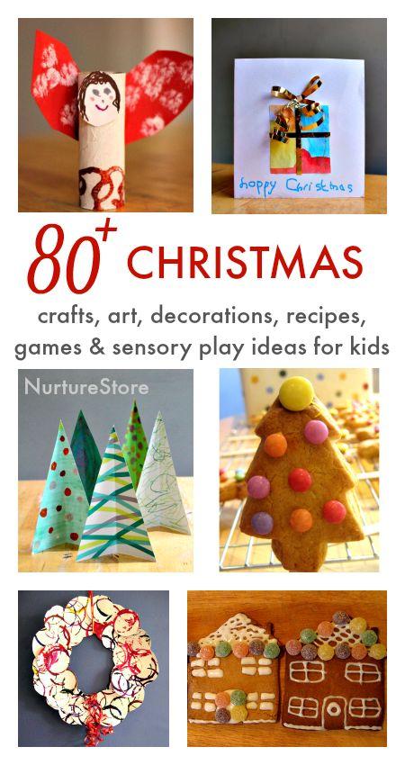All I need for Christmas craft, Christmas centers, Christmas sensor play - lots of great ideas!
