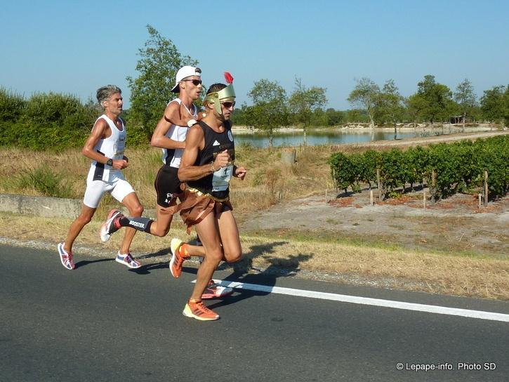 @antoine2wilde 4e du Marathon du Médoc 2012 porte le #booster