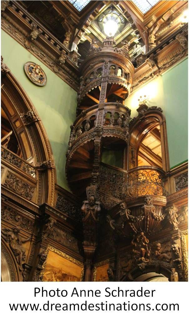 Honor Hall Entranceway Peles Castle Romania