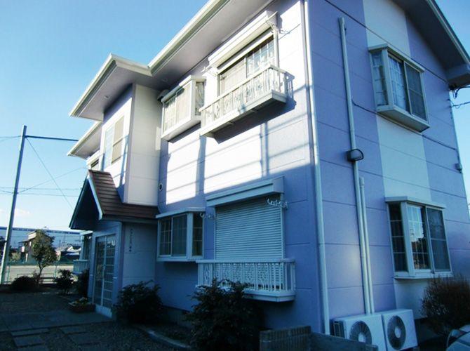 東京都瑞穂町アパートの外壁塗装・屋根塗装の施工事例