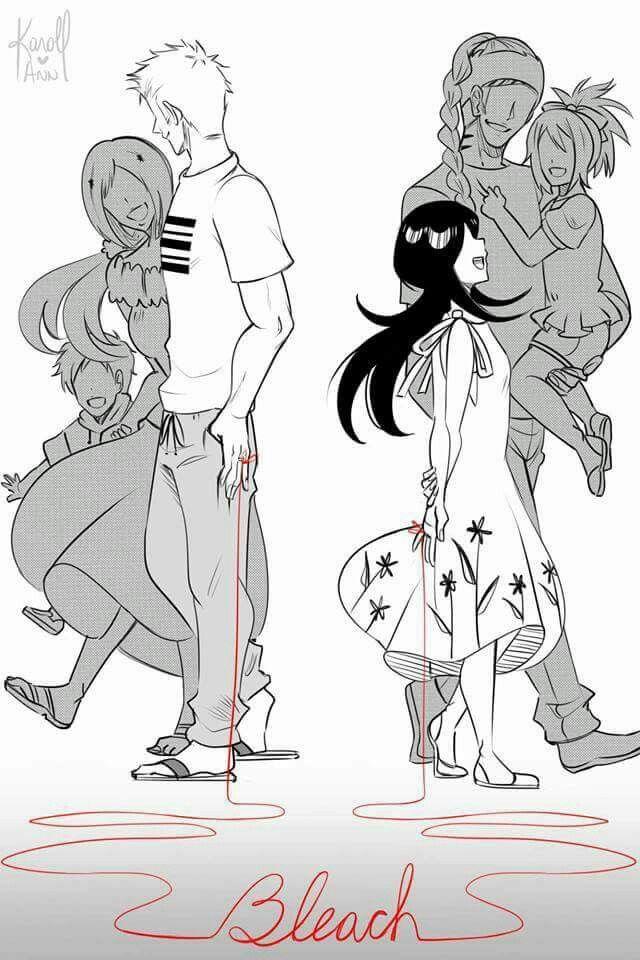 Pate uma dor no coração,eu queria que o ichigo e a rukia ficasem juntos, mas infelizmente eles não ficaram juntos. Vamos sonha e torcer que a ichika e o kazui fique juntos.