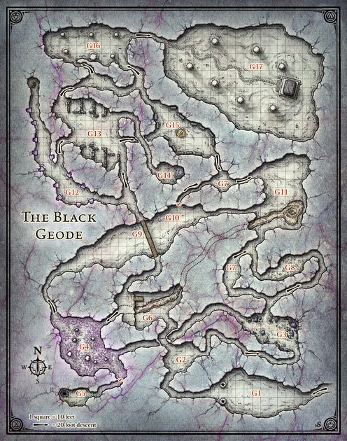 Princes of the Apocalypse; Black Geode (Digital DM & Player Versions)