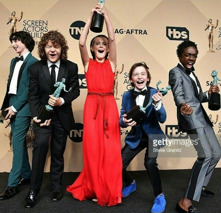 Imagem de cast, eleven, and stranger things
