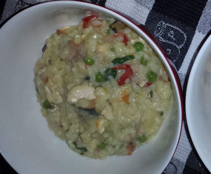 Recipe Hunters Chicken,Bacon,Roast Veg & Feta Risotto by Cozzy - Recipe of category Pasta & rice dishes