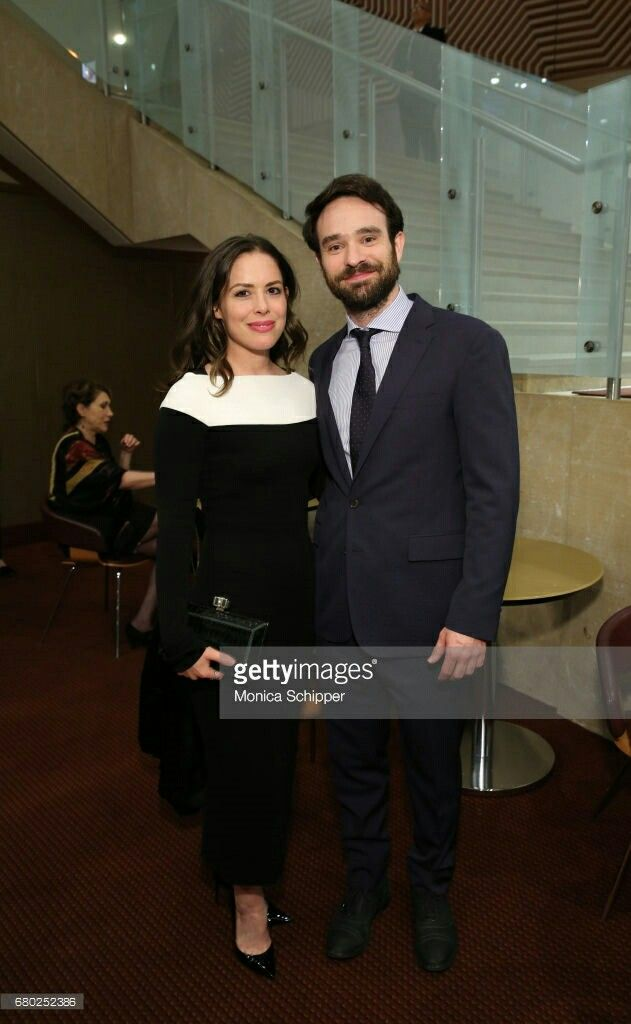 Charlie Cox and his girlfriend Samantha Thomas at the 32nd Lucille Lortel Awards
