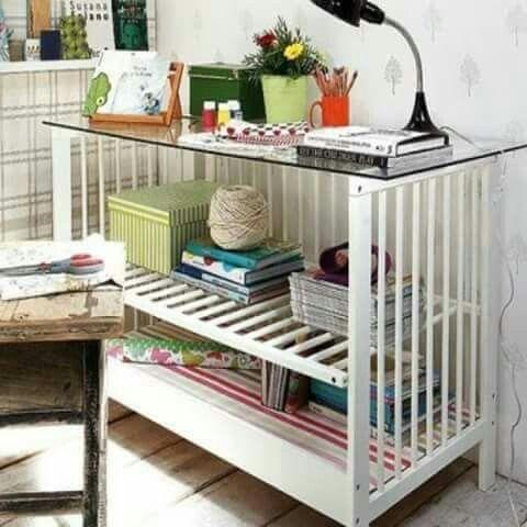Reaproveitando berços / Reusing cribs