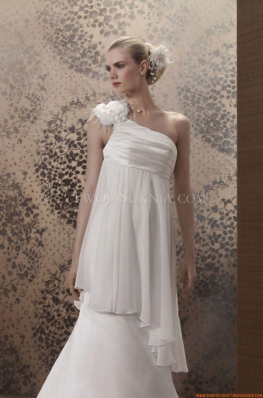 Robe de mariée Pronuptia Paris Brune 2013