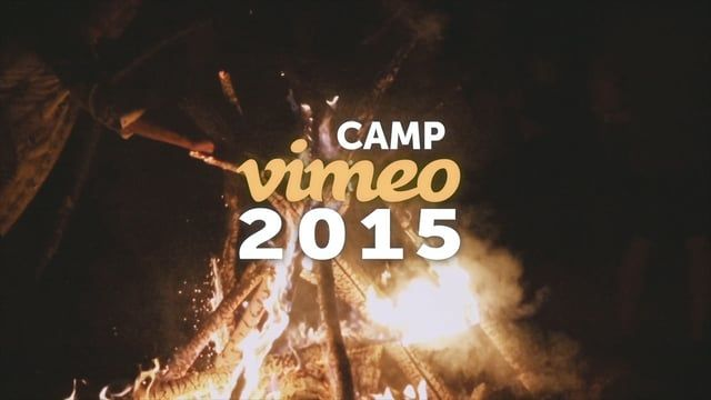 A look at the annual Vimeo retreat where games were played, falls were trusted, and fires were burned.